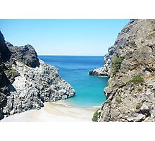 Greek ocean landscape Photographic Print