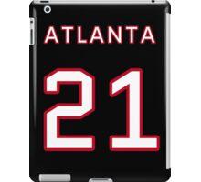 Atlanta Football (II) iPad Case/Skin