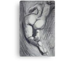 Back 6 - Female Nude Canvas Print