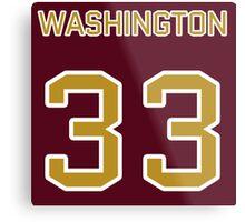 Washington Football (II) Metal Print