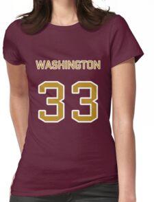 Washington Football (II) Womens Fitted T-Shirt