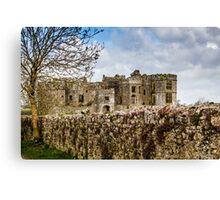 Carew Castle, Pembrokeshire, Wales Canvas Print