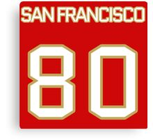 San Francisco Football (II) Canvas Print