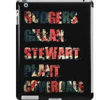 British Rock Singers - Rodgers - Gillan - Stewart - Plant - Coverdale iPad Case/Skin