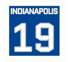 Indianapolis Football (I) Art Print