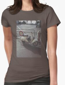 Italian Scooter Womens Fitted T-Shirt