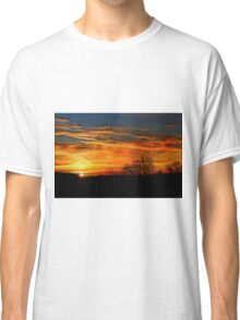 Painted Sky - Jan. 07, 2016 Classic T-Shirt