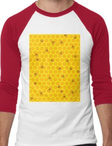 Mind Your Own Beeswax Men's Baseball ¾ T-Shirt
