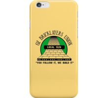 Oz Bricklayers Union iPhone Case/Skin