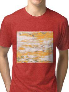Arrows Fly In An Orange Sky Tri-blend T-Shirt