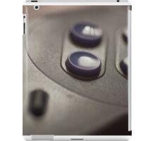 SNES Controller Art Photograph iPad Case/Skin