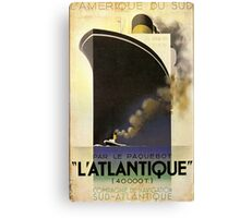 Vintage poster - L'Atlantique Canvas Print