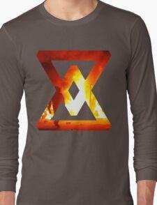 Fire - abstract Long Sleeve T-Shirt