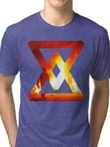 Fire - abstract Tri-blend T-Shirt