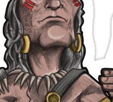 Chief Woodenhead Sticker