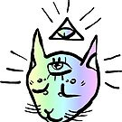 illuminati cat by HiddenStash