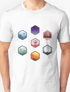 Expanded Original Star Wars Icon Set T-Shirt