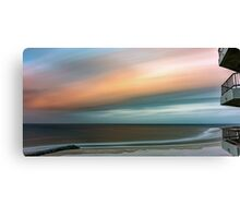 Blurred Sunset Canvas Print