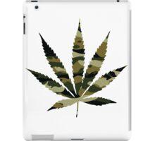 Camo Weed iPad Case/Skin