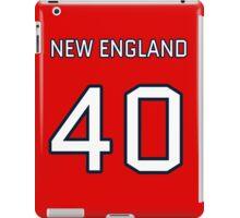 New England Football (I) iPad Case/Skin