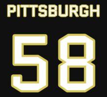 Pittsburgh Football (I) One Piece - Short Sleeve