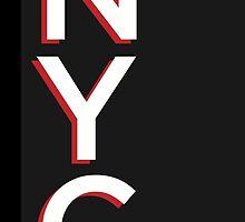 Gotham Typography Poster by burnedsap