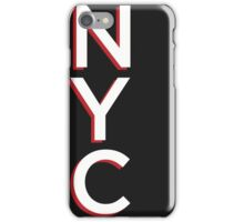 Gotham Typography Poster iPhone Case/Skin