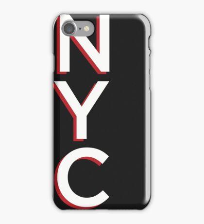 Gotham Typography Poster iPhone Case/Skin
