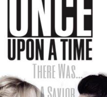 Emma Swan and Regina Mills - Queen and Savior Sticker