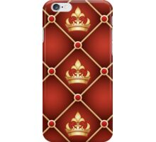 Seamless upholstery pattern iPhone Case/Skin