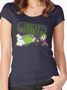 Tina Cancer Score Women's Fitted Scoop T-Shirt