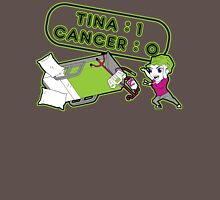 Tina Cancer Score Womens Fitted T-Shirt