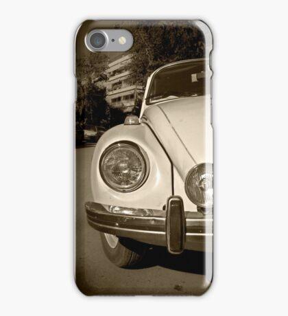 OLD RETRO VINTAGE BEETLE CAR iPhone Case/Skin