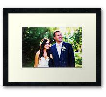 Savannah & Nick Framed Print
