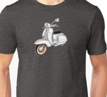1961 Series 2 Li 150 Scooter Design Unisex T-Shirt