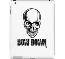 Bow down iPad Case/Skin