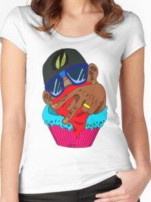 Chocolate Cupcake Women's Fitted Scoop T-Shirt