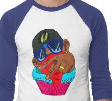 Chocolate Cupcake Men's Baseball ¾ T-Shirt