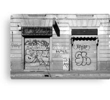 Urban Desolation Canvas Print