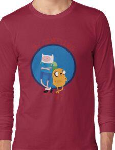 Los Héroes Hermanos Long Sleeve T-Shirt
