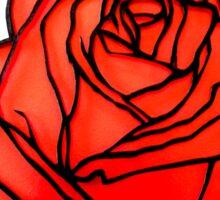 Not Just A Rose Sticker
