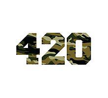 Camo 420 Photographic Print