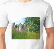 Foxglove and the Meadow Unisex T-Shirt
