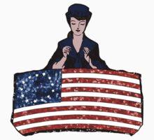 betsy ross american flag Kids Tee