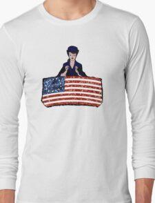 betsy ross american flag Long Sleeve T-Shirt
