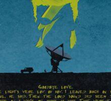 Starman Lyrics Sticker