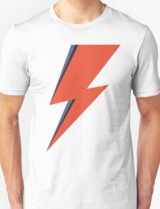 David Bowie Minimal Lightning Ziggy Stardust T-Shirt