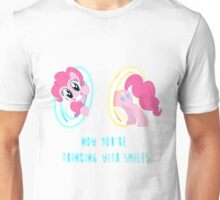 Now You're Thinking With Smiles - Pinkie Pie - MLP Unisex T-Shirt