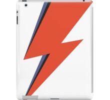 David Bowie Minimal Lightning Ziggy Stardust iPad Case/Skin