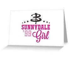 Sunnydale Girl Greeting Card